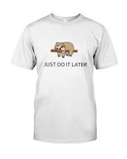 Cute sleeping sloths  Classic T-Shirt thumbnail