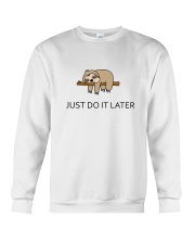 Cute sleeping sloths  Crewneck Sweatshirt thumbnail