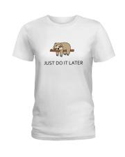Cute sleeping sloths  Ladies T-Shirt thumbnail