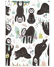 Cute sleeping sloths  11x17 Poster front