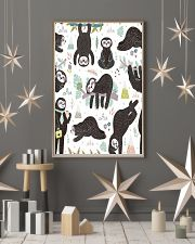 Cute sleeping sloths  11x17 Poster lifestyle-holiday-poster-1