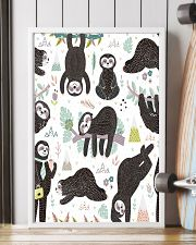 Cute sleeping sloths  11x17 Poster lifestyle-poster-4