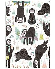 Cute sleeping sloths  24x36 Poster thumbnail
