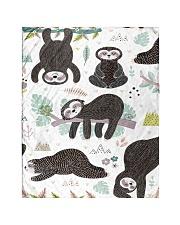 "Cute sleeping sloths  Quilt 40""x50"" - Baby thumbnail"