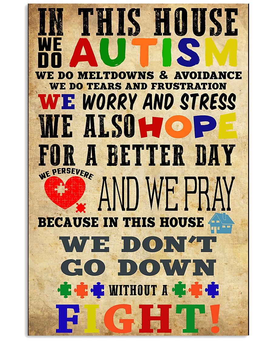 Autism poster- HBS 16x24 Poster