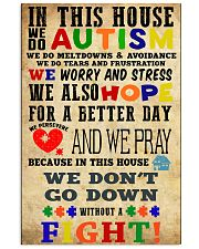 Autism poster- HBS 16x24 Poster front