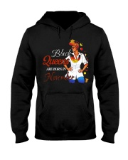 Black Queens Are Born In November Hooded Sweatshirt thumbnail