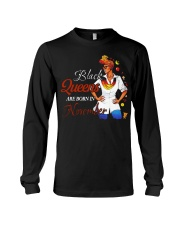 Black Queens Are Born In November Long Sleeve Tee tile