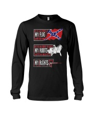 MY FLAG MY ROOTS MY RIGHTS Long Sleeve Tee thumbnail