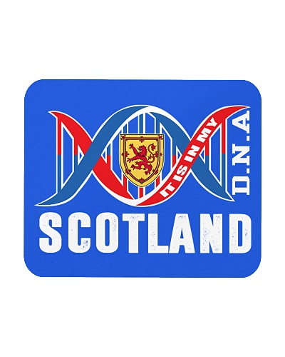 SCOTLAND IS IN MY DNA