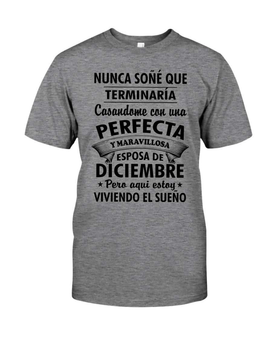 Maravillosa Esposa Diciembre Classic T-Shirt