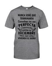 Maravillosa Esposa Diciembre Classic T-Shirt front