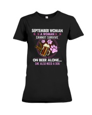 September Woman - Special Edition Premium Fit Ladies Tee thumbnail