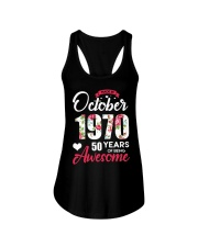 October Girl - Special Edition Ladies Flowy Tank thumbnail