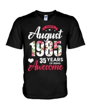 August 1985 - Special Edition V-Neck T-Shirt thumbnail