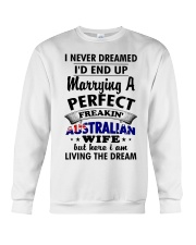 Australian Wife Crewneck Sweatshirt tile