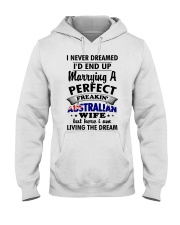 Australian Wife Hooded Sweatshirt thumbnail