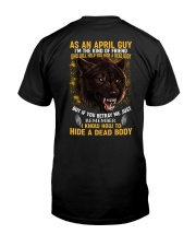 April Guy - Limited Edition Classic T-Shirt back