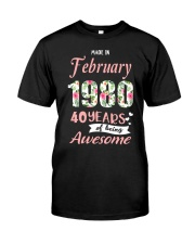 February Girl - Special Edition Classic T-Shirt thumbnail