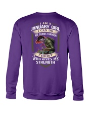 January Girl Crewneck Sweatshirt thumbnail