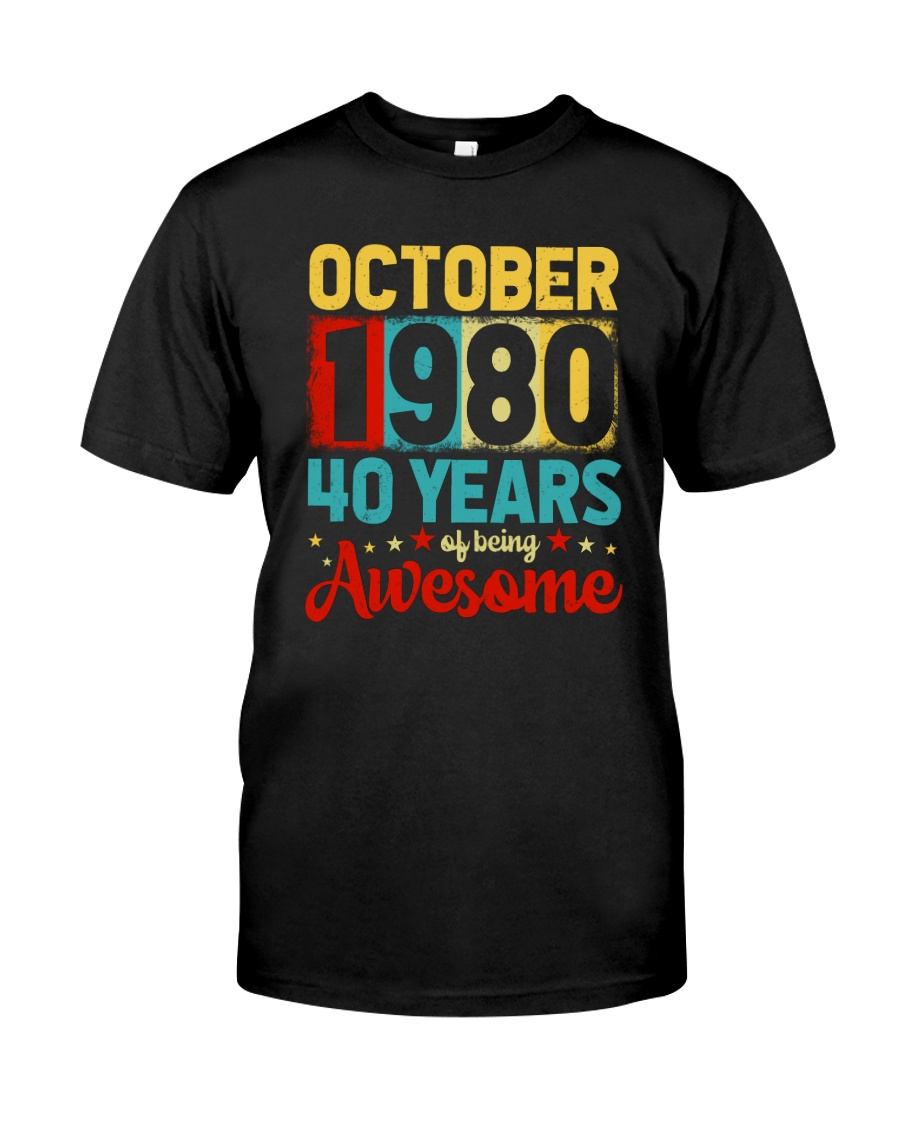 October 1980 - Special Edition Classic T-Shirt