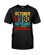 October 1980 - Special Edition Classic T-Shirt front