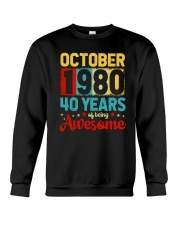 October 1980 - Special Edition Crewneck Sweatshirt thumbnail