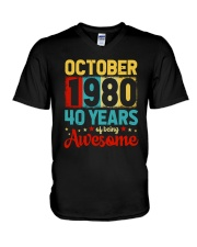 October 1980 - Special Edition V-Neck T-Shirt thumbnail