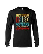 October 1980 - Special Edition Long Sleeve Tee thumbnail