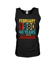 February 1980 - Special Edition Unisex Tank thumbnail