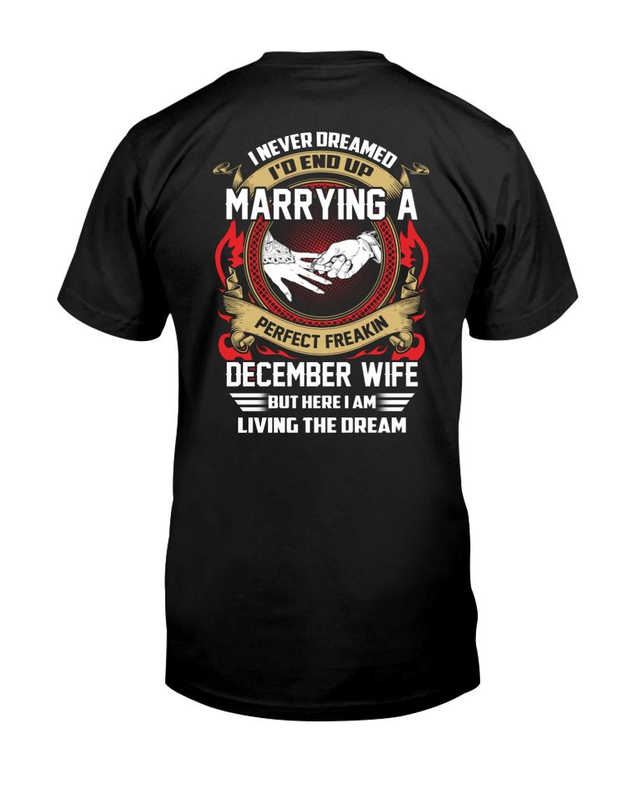 Perfect Freakin December Wife Classic T-Shirt