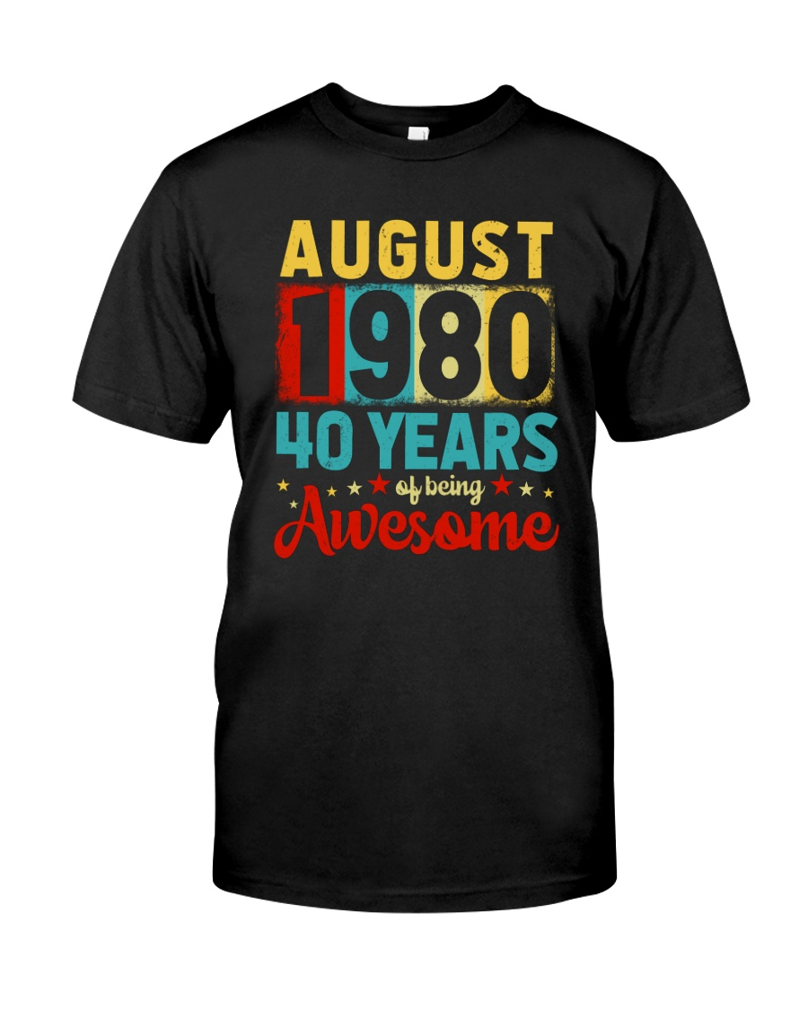 August 1980 - Special Edition Classic T-Shirt