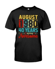 August 1980 - Special Edition Classic T-Shirt front