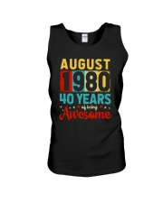 August 1980 - Special Edition Unisex Tank thumbnail