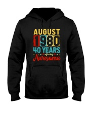 August 1980 - Special Edition Hooded Sweatshirt thumbnail