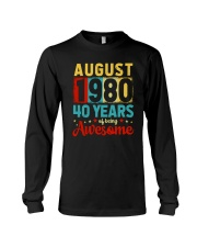 August 1980 - Special Edition Long Sleeve Tee thumbnail