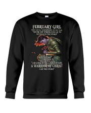 February Girl - Special Edition Crewneck Sweatshirt thumbnail