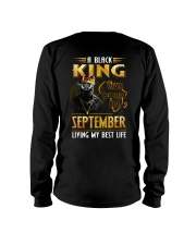 Black King Was Born In September Long Sleeve Tee thumbnail