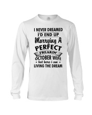 October Wife Long Sleeve Tee tile