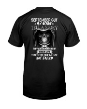 September Guy - Special Edition Classic T-Shirt back