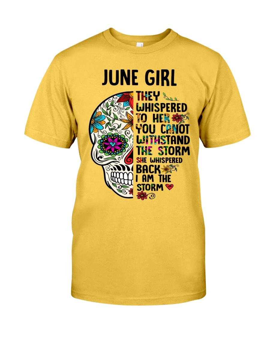 June Girl - Storm Classic T-Shirt