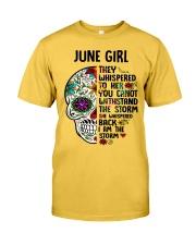 June Girl - Storm Classic T-Shirt front