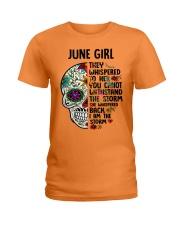 June Girl - Storm Ladies T-Shirt thumbnail