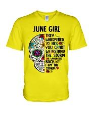 June Girl - Storm V-Neck T-Shirt thumbnail