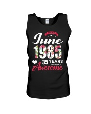June 1985 - Special Edition Unisex Tank thumbnail