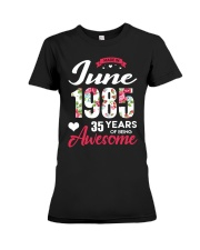 June 1985 - Special Edition Premium Fit Ladies Tee thumbnail