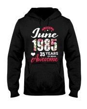 June 1985 - Special Edition Hooded Sweatshirt front
