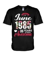 June 1985 - Special Edition V-Neck T-Shirt thumbnail