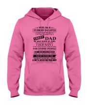 Stubborn Daughter - June Birthday Shirt Hooded Sweatshirt front