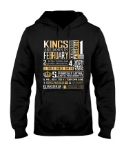 Kings Are Born In February  Hooded Sweatshirt thumbnail